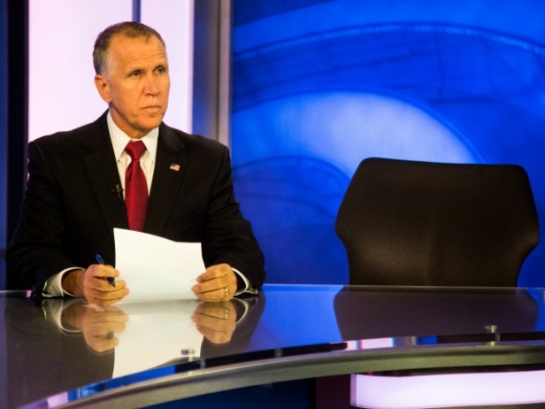 thom-tillis-empty-chair-ap