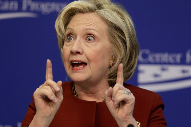 Hillary Clinton Speaks At Event At Center For American Progress